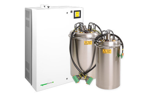 air humidification system steam production with stainless steel cylinder