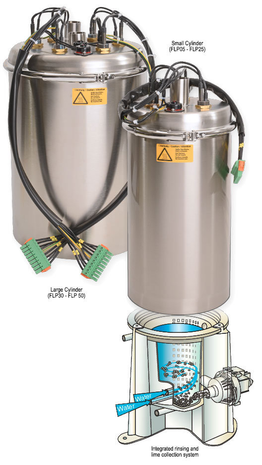 air humidification hygienic stainless steel steam cylinder