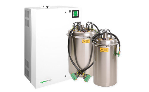 air humidification system with stainless steel cylinder